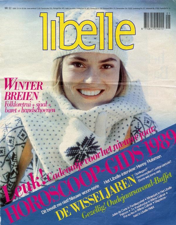 Jantine Ruinard op de cover van Libelle.